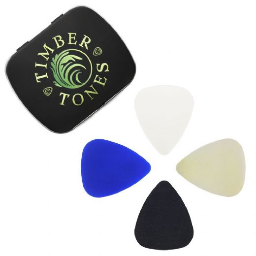 Rubber Tones Mixed Tin of 4 Picks